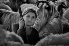 Shepherd-girl